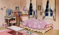 Usagi Tsukino Bedroom