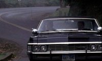 Napping in the Winchesters' Impala