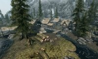 Outside in Riverwood