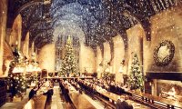 http://www.ambient-mixer.comChristmas in Hogwarts' Great Hall
