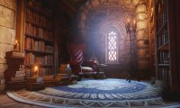 Skyhold library