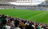 http://www.ambient-mixer.comDruming fans at a world cup soccer game