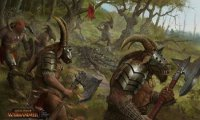A forest dwelled by beastmen