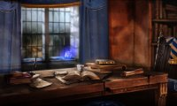 Studying in Ravenclaw Tower