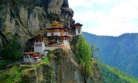 Buddhist Temple in Bhutan