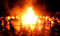 Pagan Bonfire