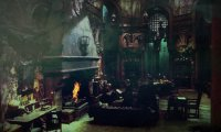Slytherin Common Room (Night)
