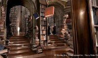 Library at Hogwarts