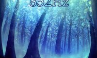 852 Hz - Awakening Spirituality, Third Eye. Forest Night by Fire Ambience.