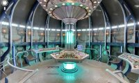 The Tardis console room