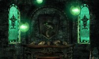 Quiet Night in Slytherin Dormitory