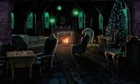 Study Harry Potter ambience Slytherin/Mermaid