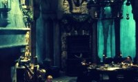 Evening in the Slytherin Common Room