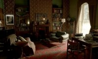 Inside Sherlock's living room
