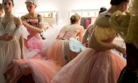 Crowded Ballet Dressing Room
