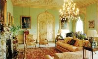 downton abbey living room