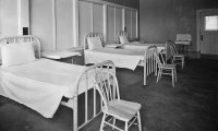 Haunted Hospital Beds at the Abbey of St. Markovia