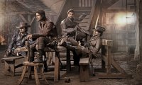 BBC Musketeers at their Garrison