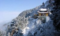 Lonely Temple in the Mountains