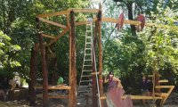 The Drum Tower, Oregon Country Fair