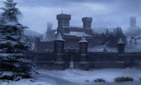 Snowy night at Winterfell