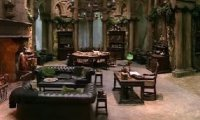 Slytherin Common Room Rainy Day