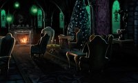 Christmas in the Slytherin Common Room