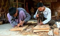 Mandalay's Wood Carver's Workshop