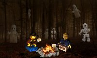Gather around a spooky campfire for a night of ghost stories...