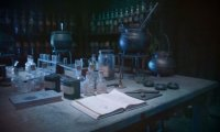 Just another day in Potions.