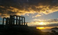 Nocturnal rites at Cape Sounion
