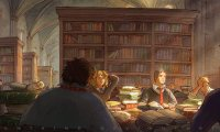 Study at the Hogwarts Library