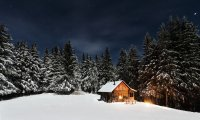 http://www.ambient-mixer.comOne of my happy places – a cabin during winter