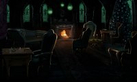 Welcome to the Slytherin Commonroom
